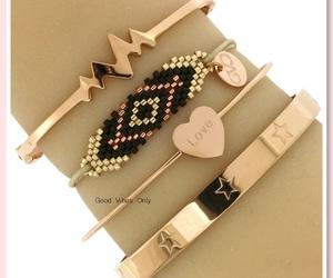 aztec, bracelets, and heartbeat image