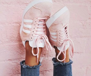feet, pink, and shoes image