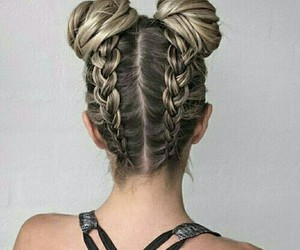 hair, braid, and hairstyle image