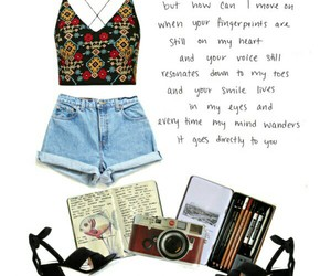 outfit, Polyvore, and quote image