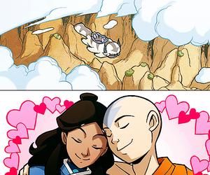 avatar, aang, and appa image