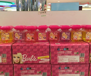 barbie, bubble, and pink image