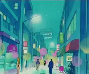sailor moon, anime scenery, and sailor moon scenery image
