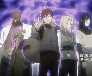 anime, gaara, and naruto image