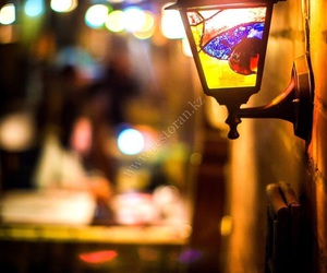 color, street, and lamp image