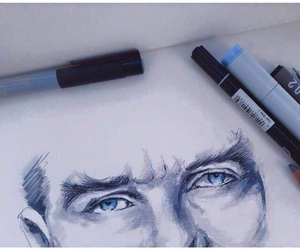 atatürk, drawing, and mustafa kemal image