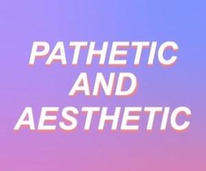 aesthetic, grunge, and pathetic image