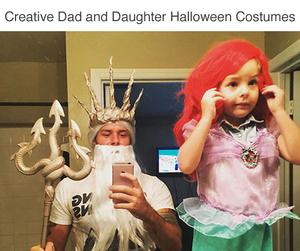 ariel, costume, and Halloween image