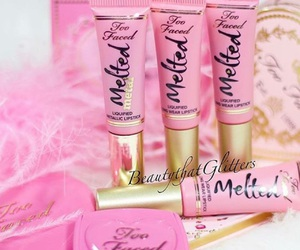 cosmetics, girly things, and pink image
