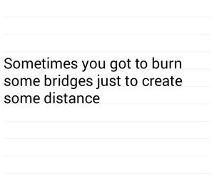 advice, bridge, and burn image