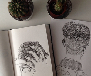 art, drawing, and grunge image