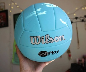 blue, tumblr, and volleyball image