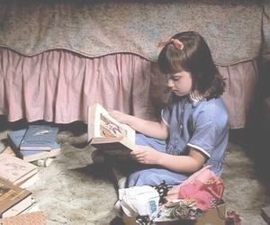 matilda, book, and movie image