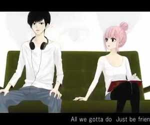 anime just be friends image