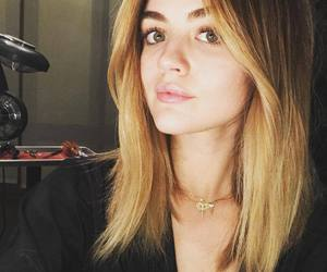 lucy hale, pretty little liars, and hair image