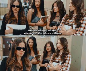 jenna, pretty little liars, and pll image