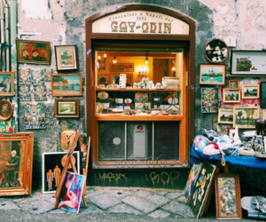 Naples, old town, and timeless image