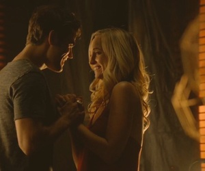 steroline, the vampire diaries, and tvd image