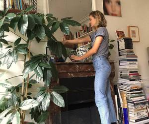 style, books, and outfit image