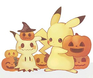 pikachu, pokemon, and Halloween image