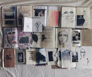 art, book, and grunge image