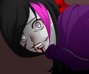 nina the killer and creepypasta image