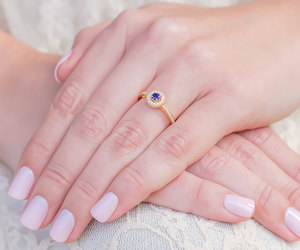 diamonds, wedding, and gold image