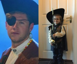 niall horan and theo horan image