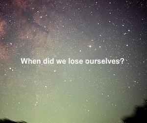 lose, quote, and sky image