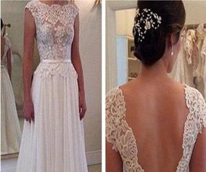 backless, dresses, and Prom image