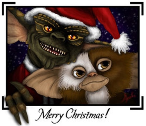 Gremlins Christmas.Merry Christmas By Gremlins On We Heart It