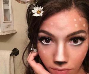 costume, makeup, and Halloween image