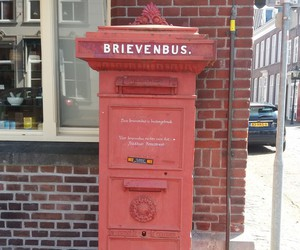 netherlands, world travel, and postbox image