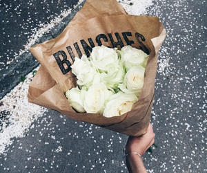 bunch, bunches, and flower image