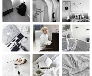 aesthetic, moodboard, and white image