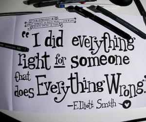 quote, elliott smith, and wrong image