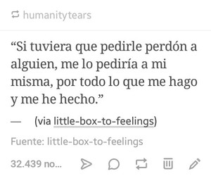 tumblr, frases en español, and frases image
