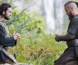vikings, athelstan, and ragnar image