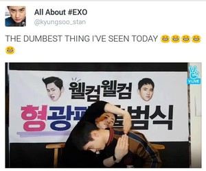 exo, funny, and twitter image