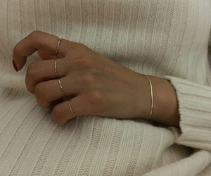 aesthetic, gold, and rings image