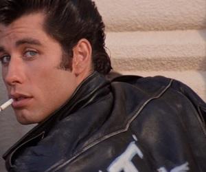 grease, John Travolta, and cigarette image