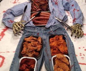 food, Halloween, and zombie image
