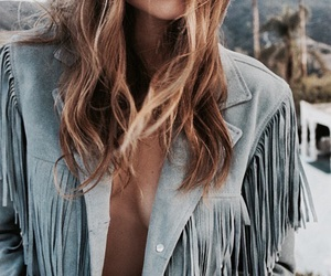 fashion, blue, and hair image