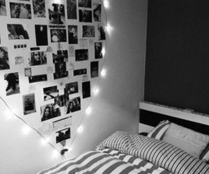 bed, girly, and grunge image