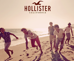 one direction, hollister, and niall horan image