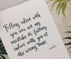 calligraphy, quote, and love image
