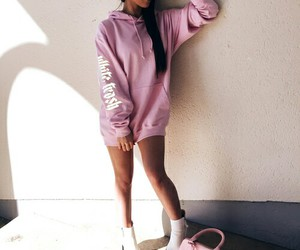chic, cool, and pink image