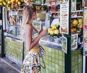 tropical skirt image