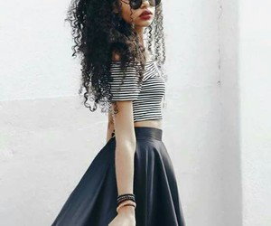 outfit and black image