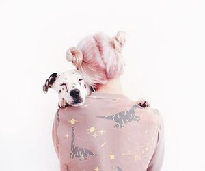 dog, pretty, and puppy image